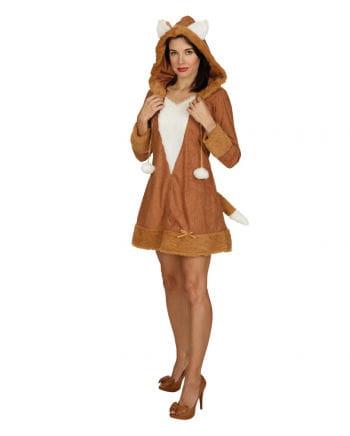 Sexy Fuchs Kostüm mit Kapuze