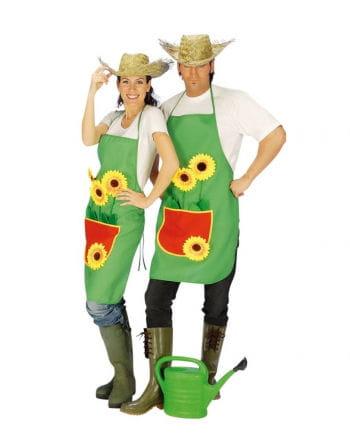 Gardener's apron with sunflower
