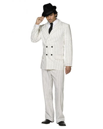 Gangster suit white