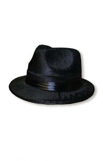 Gangster Hat Black