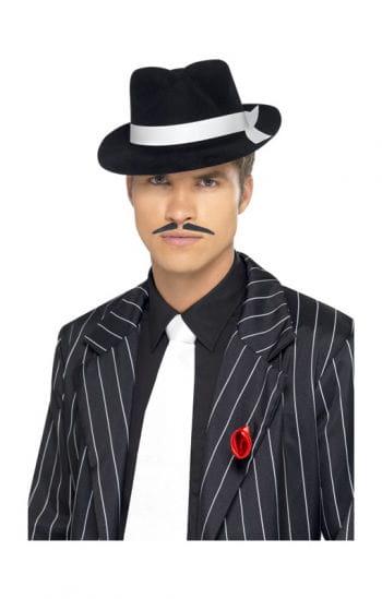Gangster Krawatte weiß