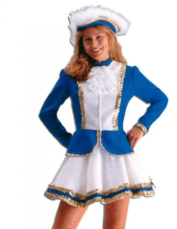 Carnival Guard Costume Blue M / 38