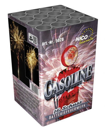 Gasoline Battery Fireworks 16 Shot