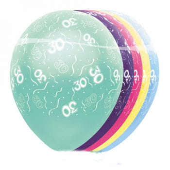 Birthday Balloons 30