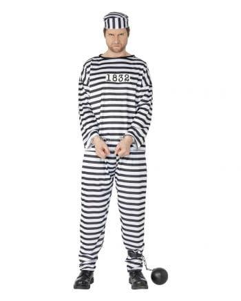 Dangerous jailbird costume