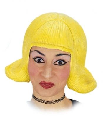 Comic Lady Wig Yellow