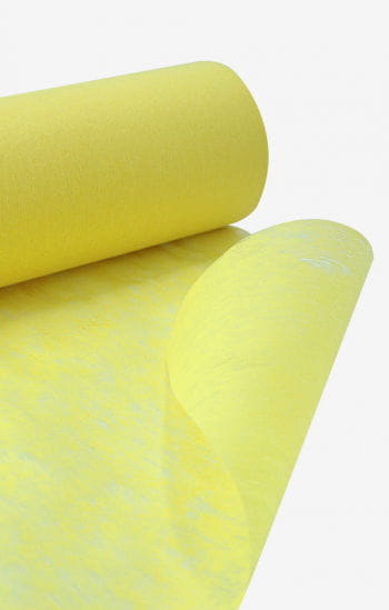 Niflamo decoration nonwoven yellow