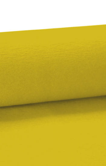 Niflamo decorative crepe yellow 50 m
