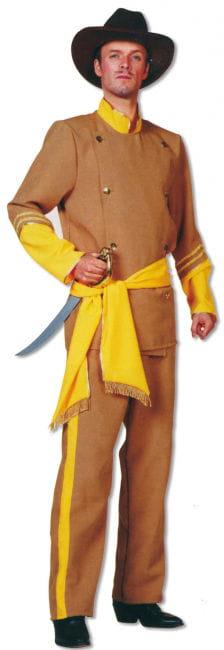 Südstaaten General Kostüm 3-teilig M