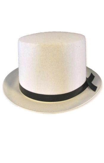 Gentleman Zylinder weiß