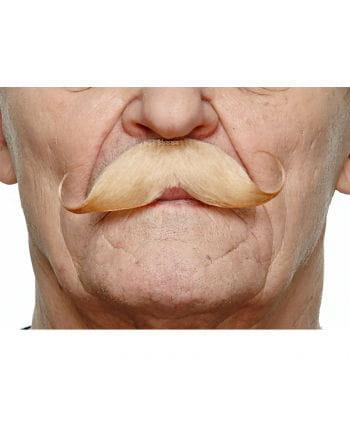Gezwirbelter mustache blond