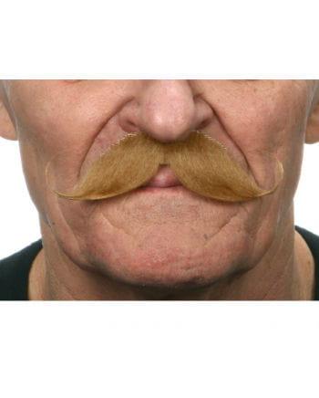 Gezwirbelter mustache Tan
