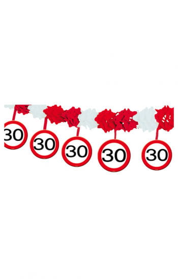 Garland Traffic Sign 30