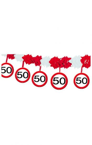 Garland Road Sign 50