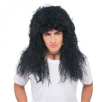 Glam Rock Wig Black