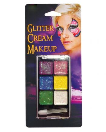 Glitter makeup palette Rainbow