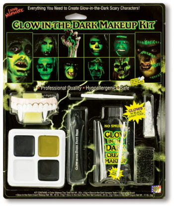 Glow in the Dark Make Up Set