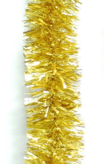 Tinsel Garland Gold
