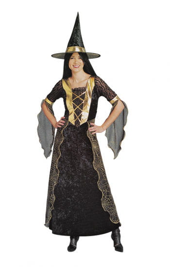 Golden Spider Witch Costume