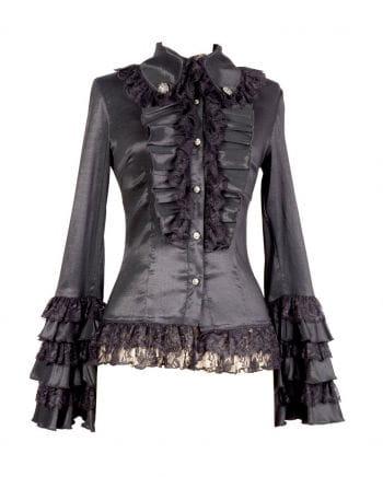 Gothic Blouse Black