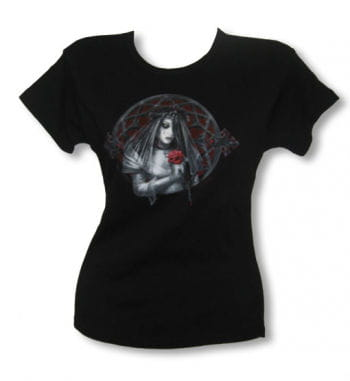 Gothic Bride Girl Shirt black