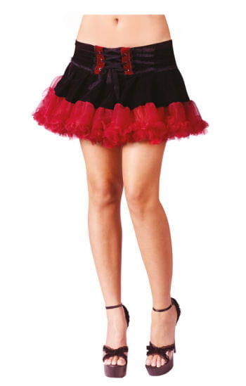 Gothic Pettiskirt Black / Red