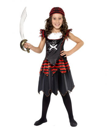 Gothic Pirate Child Costume