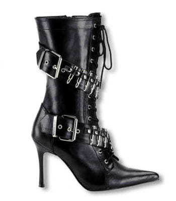 Patronengurt High Heel Stiefel 39 UK 8 US 10