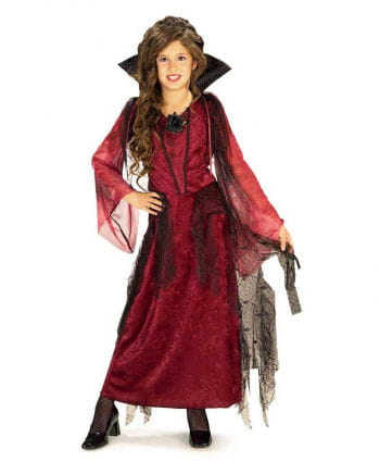 Gothic Vampire Lady Child Costume S