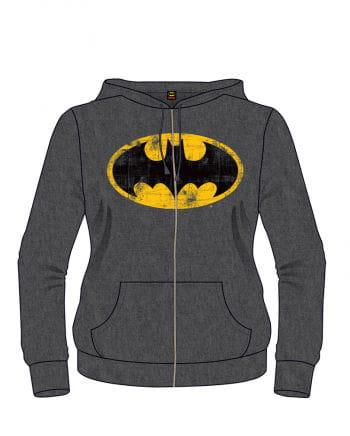 Batman Classic Logo Hoodie grau