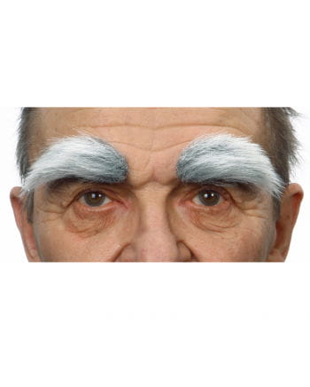 Self eyebrows heather gray white