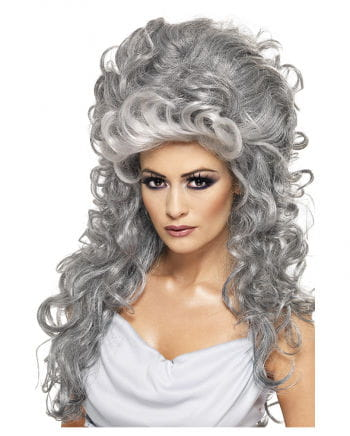 Greek Grey Witch Wig