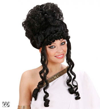 Greek Goddess Wig Black