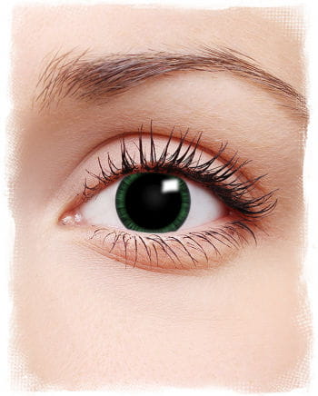 Manga contact lenses green