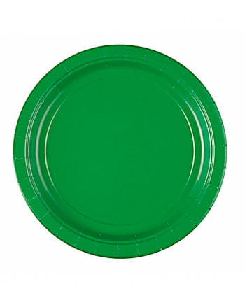 Paper plate green