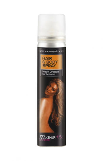 Hair and Body Spray UV Orange