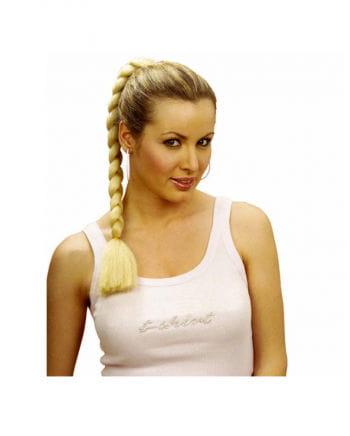 Hairpiece blond plait
