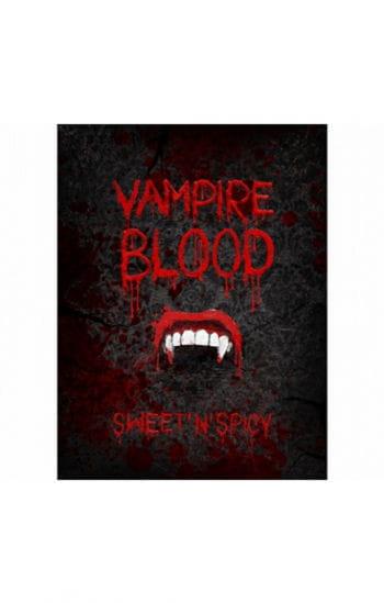 Halloween Flaschenetiketten Vampir