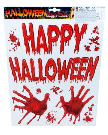 Halloween film bloody hands