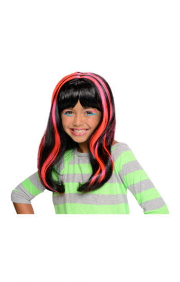 Halloween Child Wig neon / pink