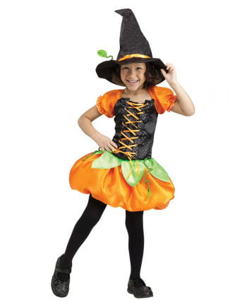 Sweet pumpkin witch