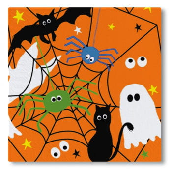 Halloween Servietten 20er Packung
