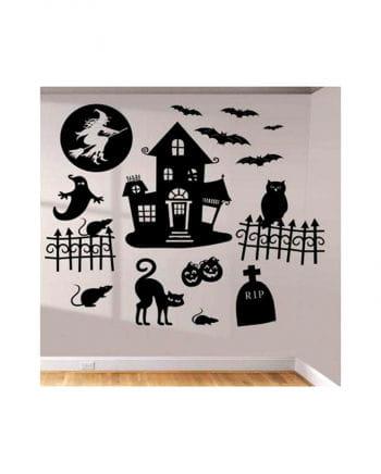 Spooky Halloween Decals