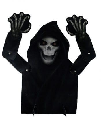 Halloween Tischdeko Gevatter Tod