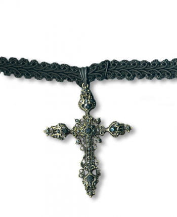 Gothic Necklace with cross