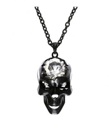 Necklace with skull pendant