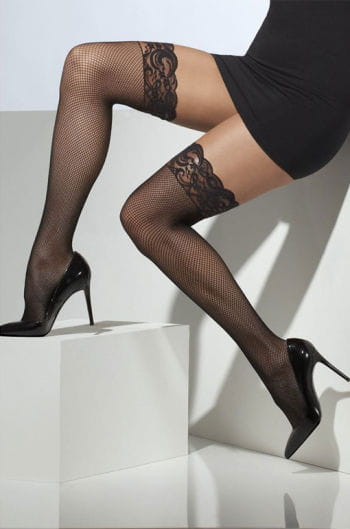 Fishnet stockings black