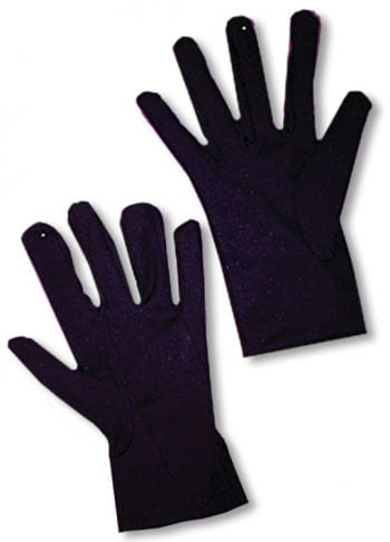 Black gloves for children