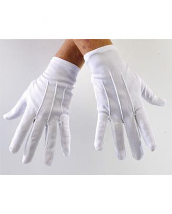 Gloves white Deluxe