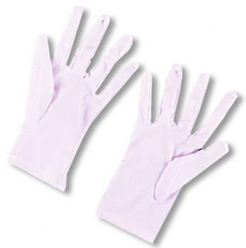 Gloves white for children